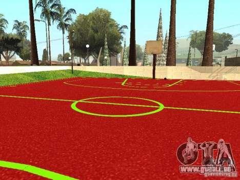 Basketballplatz für GTA San Andreas dritten Screenshot