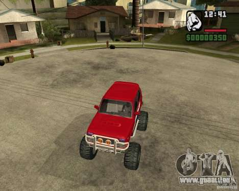 VAZ-21213 4x4 Monster pour GTA San Andreas vue de côté