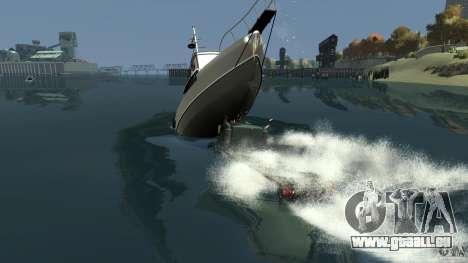 Biff boat pour GTA 4 Salon