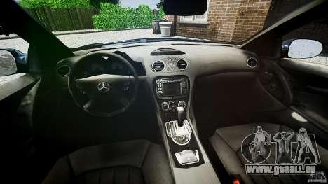 Mercedes Benz SL65 AMG pour GTA 4 Vue arrière