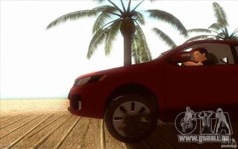 Kia Rio für GTA San Andreas rechten Ansicht