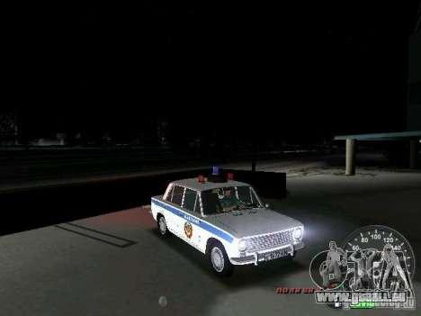 VAZ 2101 Police pour GTA Vice City vue latérale