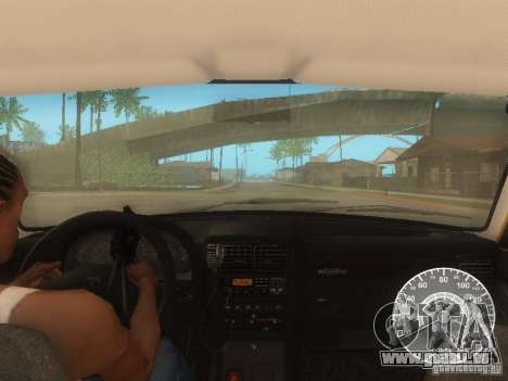GAZ 3110 Wolga taxi für GTA San Andreas Unteransicht