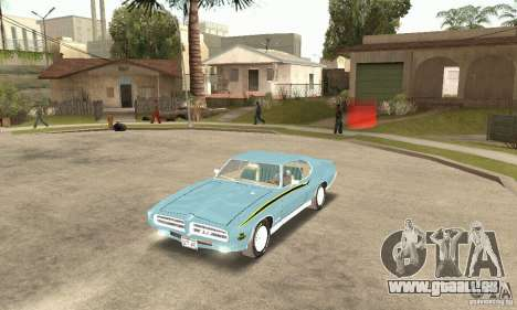 Pontiac GTO The Judge pour GTA San Andreas