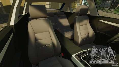 Audi A4 2010 pour GTA 4 est une vue de l'intérieur