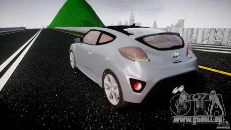 Hyundai Veloster Turbo 2012 pour GTA 4 est un côté