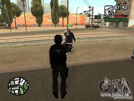Umbrella soldier für GTA San Andreas fünften Screenshot