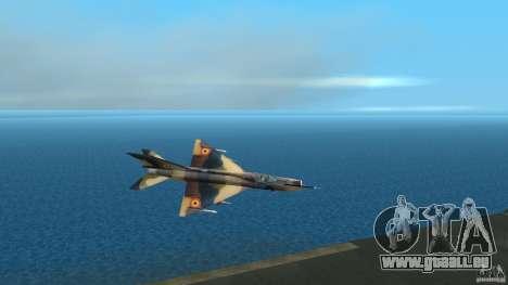MiG 21 LanceR A pour GTA Vice City
