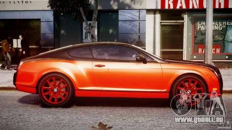 Bentley Continental SS 2010 Le Mansory [EPM] pour GTA 4 est une vue de l'intérieur