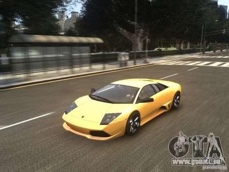 Lamborghini Murcielago LP640 2007 für GTA 4 Rückansicht