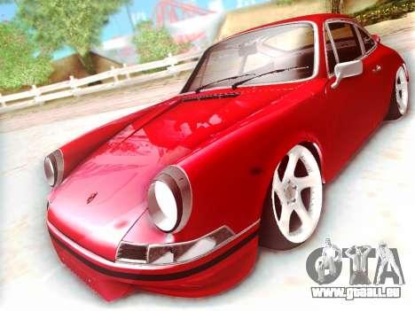 Porsche Carrera RS 1973 pour GTA San Andreas laissé vue