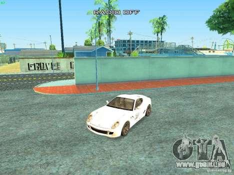 Ferrari 599 GTB für GTA San Andreas Unteransicht