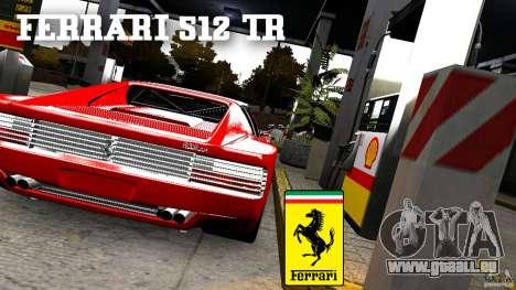 Ferrari 512 TR BBS für GTA 4 hinten links Ansicht