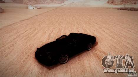 Pontiac Firebird Trans Am pour GTA San Andreas vue intérieure