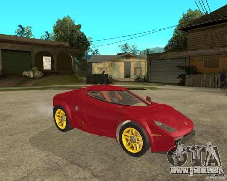Lancia Stratos Fenomenon für GTA San Andreas rechten Ansicht