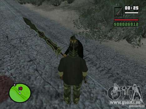 Kralle Beliara für GTA San Andreas zweiten Screenshot