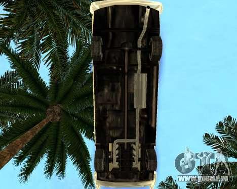 Dodge Polara pour GTA San Andreas sur la vue arrière gauche