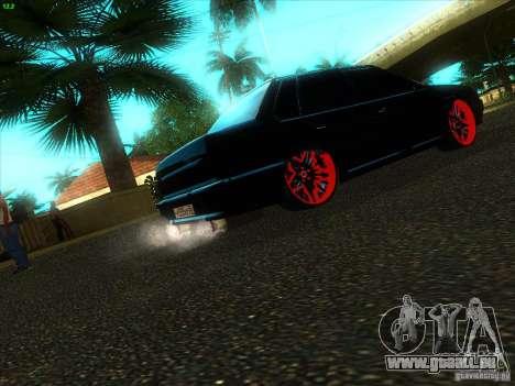 VAZ 2115 diable Tuning pour GTA San Andreas sur la vue arrière gauche