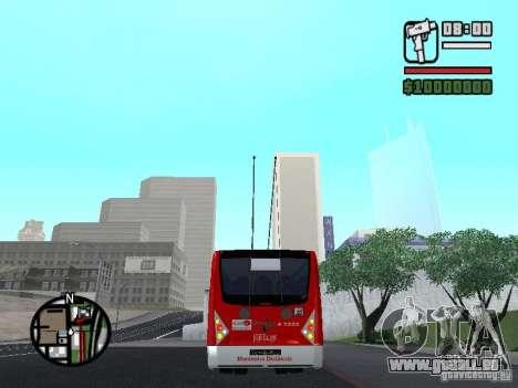Caio Millennium TroleBus pour GTA San Andreas sur la vue arrière gauche