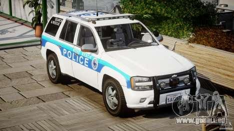 Chevrolet Trailblazer Police V1.5PD [ELS] für GTA 4 Rückansicht