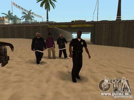Tenpenny pour GTA San Andreas troisième écran