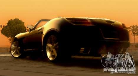Opel GT 2007 pour GTA San Andreas laissé vue