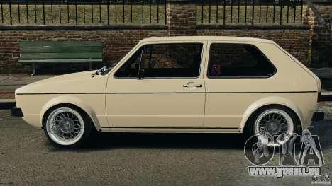 Volkswagen Golf Mk1 Stance für GTA 4 linke Ansicht