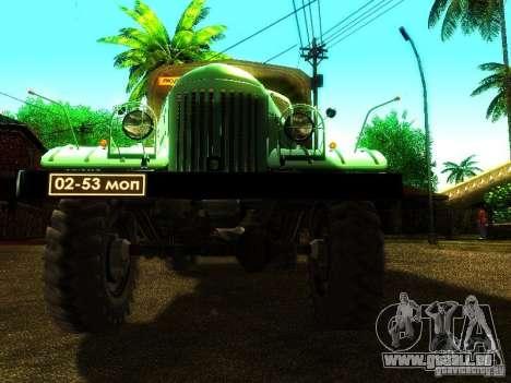 ZIL 157 Truman für GTA San Andreas Seitenansicht