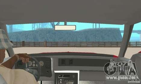 Chevrolet Monte Carlo SS 1986 für GTA San Andreas Rückansicht