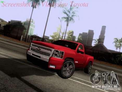 Chevrolet Cheyenne Single Cab für GTA San Andreas