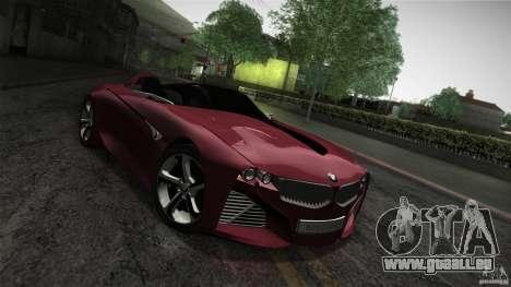 BMW Vision Connected Drive Concept für GTA San Andreas Seitenansicht