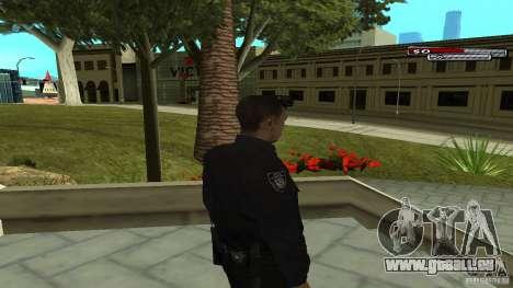 Agent de police pour GTA San Andreas troisième écran