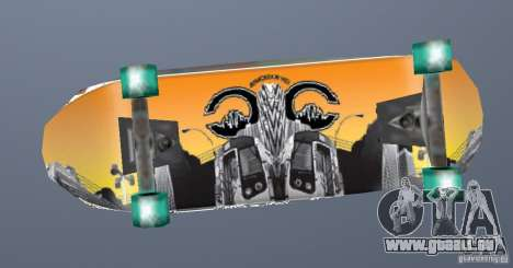 Skateboard Skin 1 pour GTA San Andreas deuxième écran