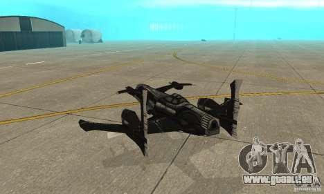 Hydra TimeShift Skin 2 pour GTA San Andreas vue de droite
