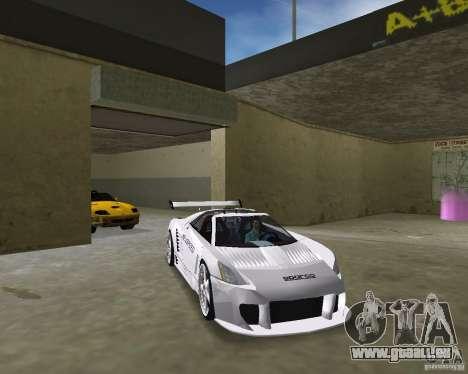Cadillac Cien Shark Dream TUNING pour une vue GTA Vice City de la droite