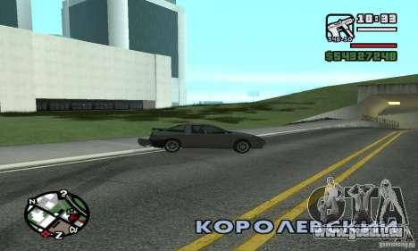 Drift-Drift für GTA San Andreas zweiten Screenshot