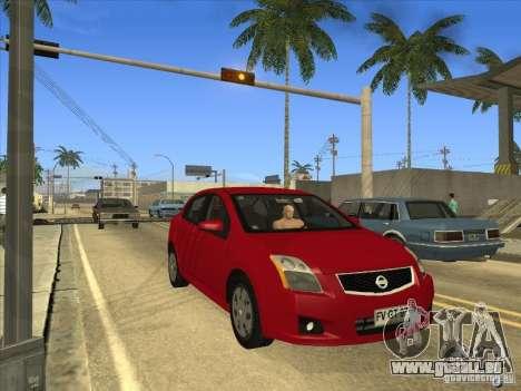Nissan Sentra 2012 für GTA San Andreas rechten Ansicht