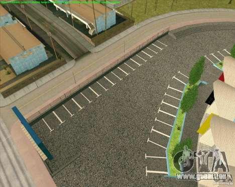 Nouvelles textures Los Santos Forum de stade pour GTA San Andreas cinquième écran