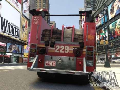 Fire Truck FDNY für GTA 4 rechte Ansicht