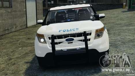 Ford Explorer NYPD ESU 2013 [ELS] für GTA 4 Seitenansicht