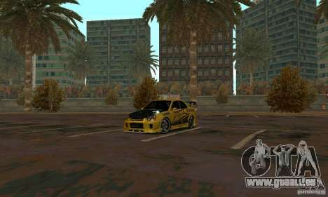 NFS Most Wanted - Paradise für GTA San Andreas
