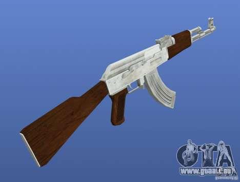 Mega Gun Pack (Chrom) für GTA 4