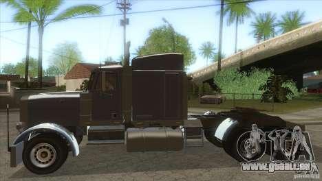 Phantom von GTA IV für GTA San Andreas linke Ansicht