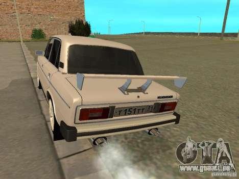 VAZ 2106 West Style pour GTA San Andreas vue de droite