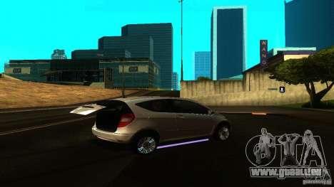 Mercedes-Benz A200 Turbo für GTA San Andreas rechten Ansicht