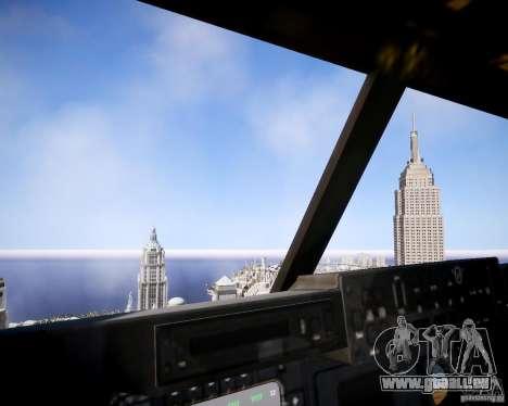 Osprey MV-22 für GTA 4 Innenansicht