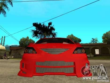 Dacia Logan Tuned v2 pour GTA San Andreas vue de droite