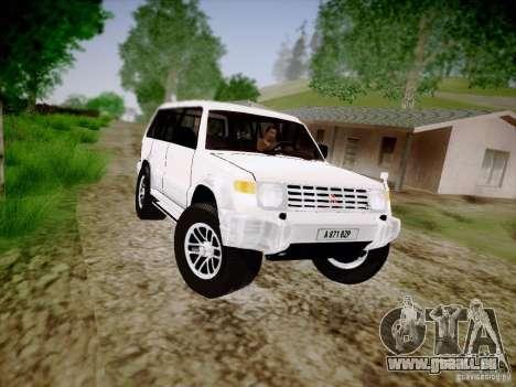Mitsubishi Pajero pour GTA San Andreas