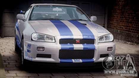 Nissan Skyline GT-R34 FNF pour GTA 4