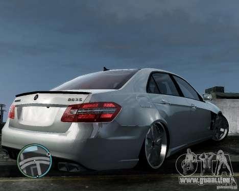 Mercedes Benz B63 S Brabus v1.0 pour GTA 4 Vue arrière